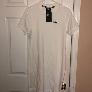 White Nike tennis dress size large